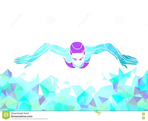 swimming breaststroke clipart professional breaststroke swimmer royalty free stock