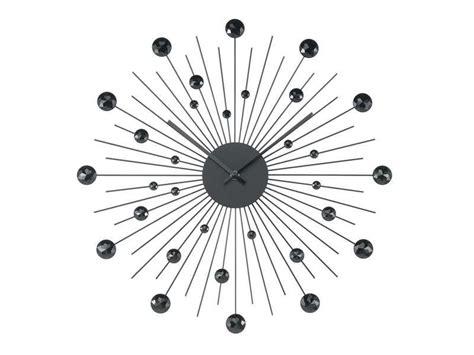 conforama horloge cuisine horloge 50 cm diamant coloris noir conforama pickture