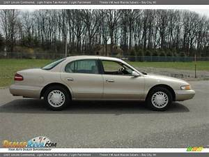 Light Prairie Tan Metallic 1997 Lincoln Continental Photo