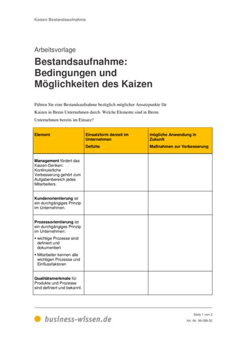 kaizen management handbuch business wissende