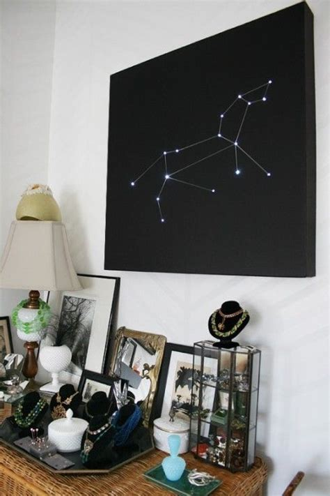 reuse   christmas lights   constellations