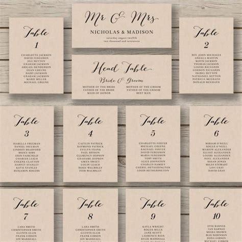 table charts for wedding reception wedding seating chart template printable seating chart