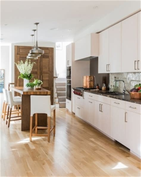 kitchen with light wood floors light oak bar stools foter 8758