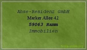 Kredit Für Gmbh Firma : ahse residenz gmbh in hamm immobilien firma ~ Kayakingforconservation.com Haus und Dekorationen