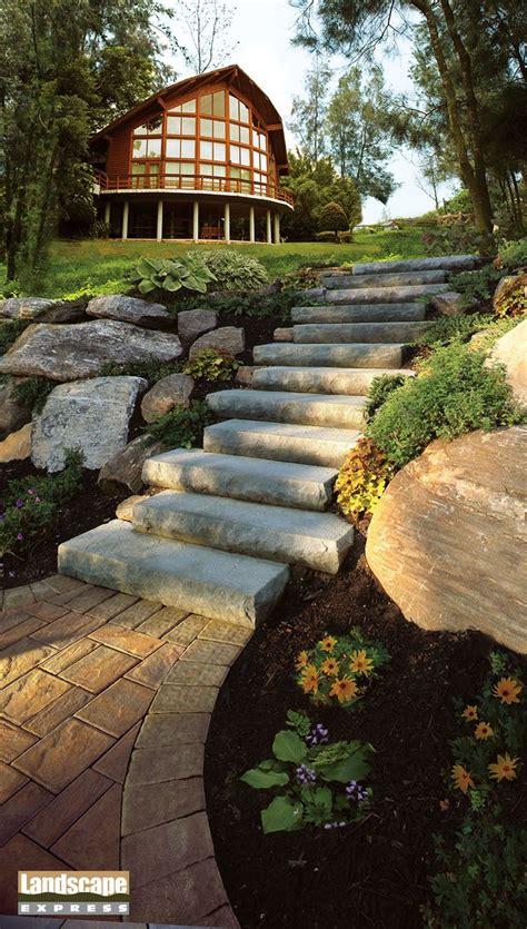 Design Ideas For Brick And Paving Stone Steps Landscape