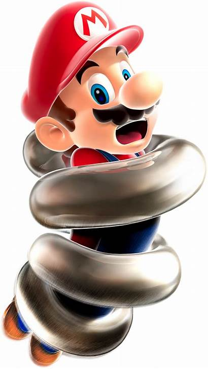 Mario Spring Super Galaxy Mushroom Power Bros