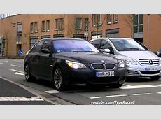 EXTREMELY Loud Straightpiped BMW M5 E60 Sound! 1080p HD