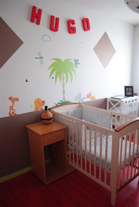 bureau pour lit chambre d 39 hugo photo 1 4 chambre thème jungle