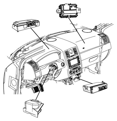 Chrysler Parts Store by 2013 Chrysler 300 Module Telematics Voice Command