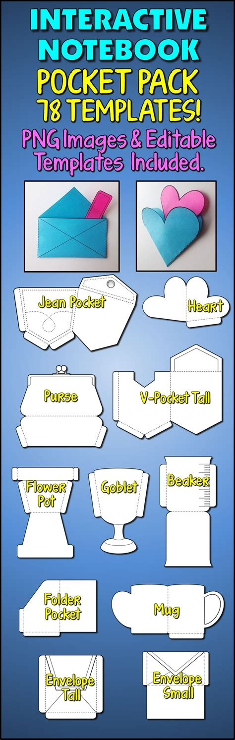 interactive notebook templates the 124 best lapbook images on interactive notebooks school projects and activities