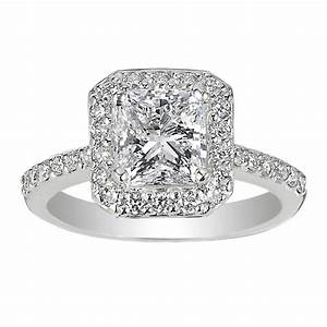 Square antique diamond rings wedding promise diamond for Wedding band under engagement ring