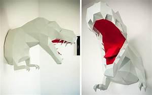 Trophée Animaux Origami : des troph es l 39 heure de la chasse d co id es ~ Teatrodelosmanantiales.com Idées de Décoration