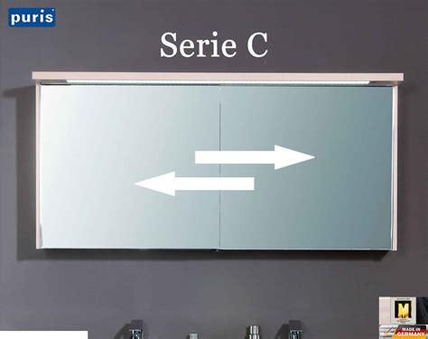 Badezimmer Spiegelschrank Mit Schiebetüren by Puris Line Spiegelschrank 140 Cm Mit Schiebet 252 Ren