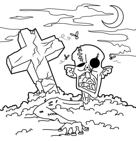 images  zombie coloring  pinterest