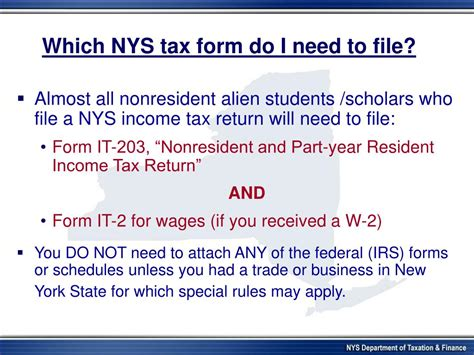 nys business tax forms ppt new york state department of taxation and finance