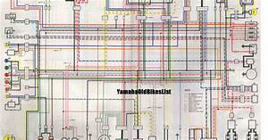 1981 Old Yamaha Xj650 Wiring Diagram