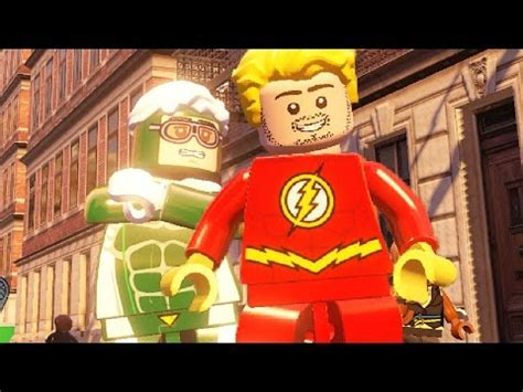 How To Make The Flash  Lego Marvel`s Avengers Youtube