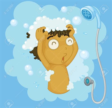 shower clipart boy shower clipart kid shower pencil and in color shower