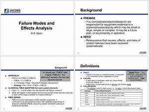 5  Fmea Examples For Excel  Powerpoint And Pdf