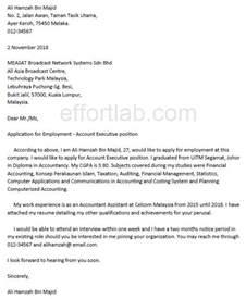 Contoh Resume Kerja Kerani by Contoh Resume Dan Letter Untuk Memohon Jawatan Kerja