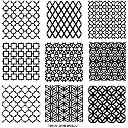Geometric Pattern Repeating Freepatternsarea Patterns Motifs Stencil