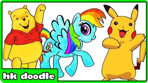 Popular Cartoon Drawings The Top 50 Cartoon Characters Of