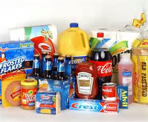 Common Grocery Items