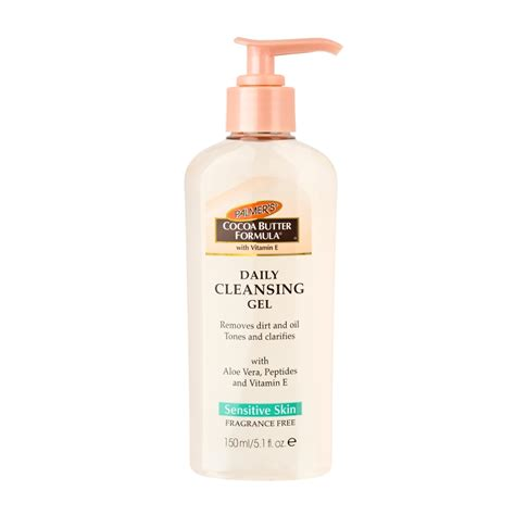 palmer 39 s cocoa butter formula facial daily cleansing gel 150ml feelunique com