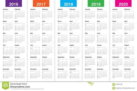calendar stock vector image