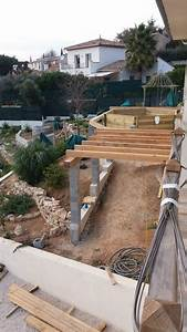 Preparation Terrain Pour Piscine Hors Sol Tubulaire : terrasse en bois avec piscine prix photos et conseils ~ Melissatoandfro.com Idées de Décoration