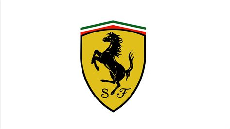 ferrari logo black and white vector scuderia ferrari logo white background 1920x1080 hd motorsport