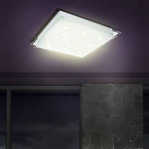 Led deckenleuchte beleuchtung deckenlampe esszimmer for Wohnzimmer deckenleuchte led
