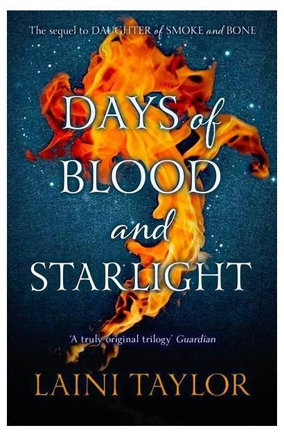 Blood Starlight Days Laini Taylor Smoke Bone