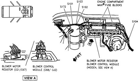 how do cars engines work 1995 pontiac bonneville transmission control i have a 1997 pontiac bonneville and the blower motor will not work i took out the blower motor