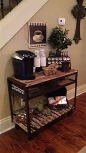 best 25 coffee carts ideas on pinterest coffee bar With home coffee bar design ideas