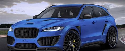 Jaguar Fpace Gets Widebody Kit And 24inch Wheels From