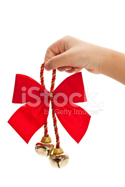 christmas bells bow ribbon christmas bells and ribbon stock photos freeimages com