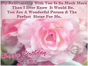 Happy Birthday Wishes Sister Quotes http://www ...