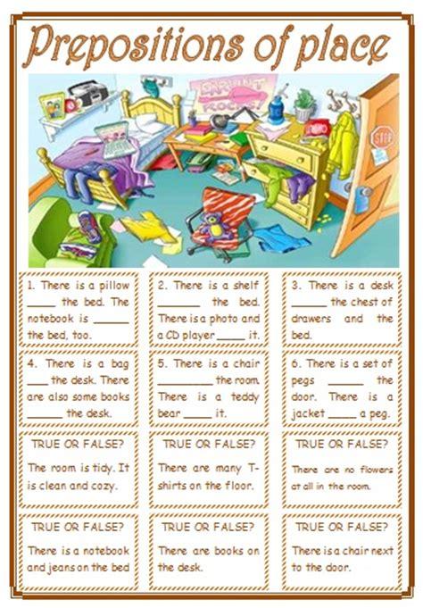 prepositions  place