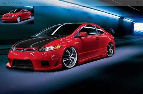 Honda Civic Modification by Car Maniax And The Future Honda Civic Modification