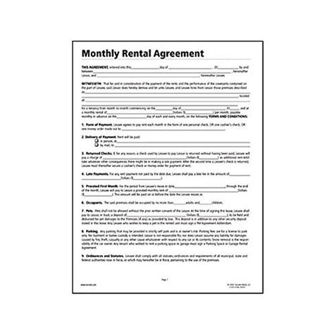 lease rental agreement forms free lease agreement forms real estate forms Free