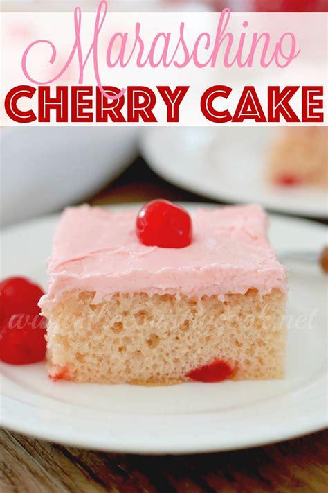 easy maraschino cherry cake recipe desserts cherry