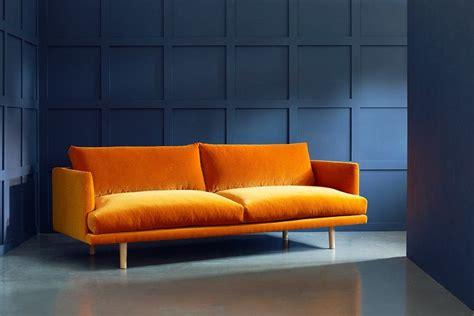Orange Contemporary Sofa by Ottilie Modern Sofa House Sofa Contemporary