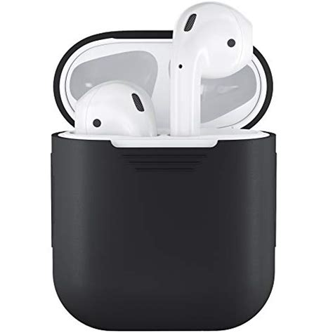 podskinz airpods case protective silicone cover  skin