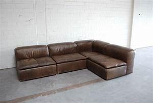 Möbel Martin Couch : vintage modular wk 550 leather sofa set by ernst martin dettinger for wk m bel set of 4 for ~ Watch28wear.com Haus und Dekorationen