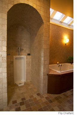 urinal alcove house ideas bathroom basement bathroom