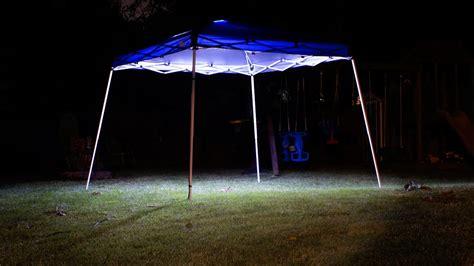 install lights  canopy youtube
