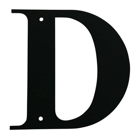 letter d vwi house letters large