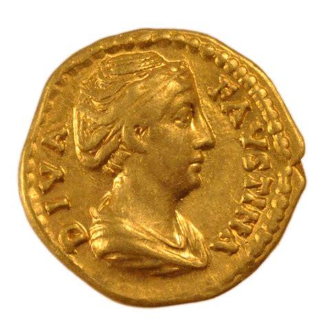 Comptoirs Des Monnaies by 54247 Faustine M 232 Re Aur 233 Us D Or Cohen 2 Ttb