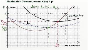 Angebotsfunktion Berechnen : betriebsoptimum betriebsminimum erste erkl rungen ~ Themetempest.com Abrechnung